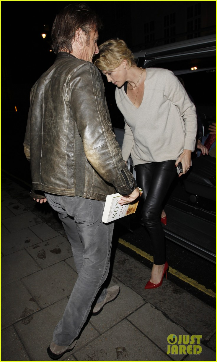 charlize theron call it a night after late night dinner in london 10