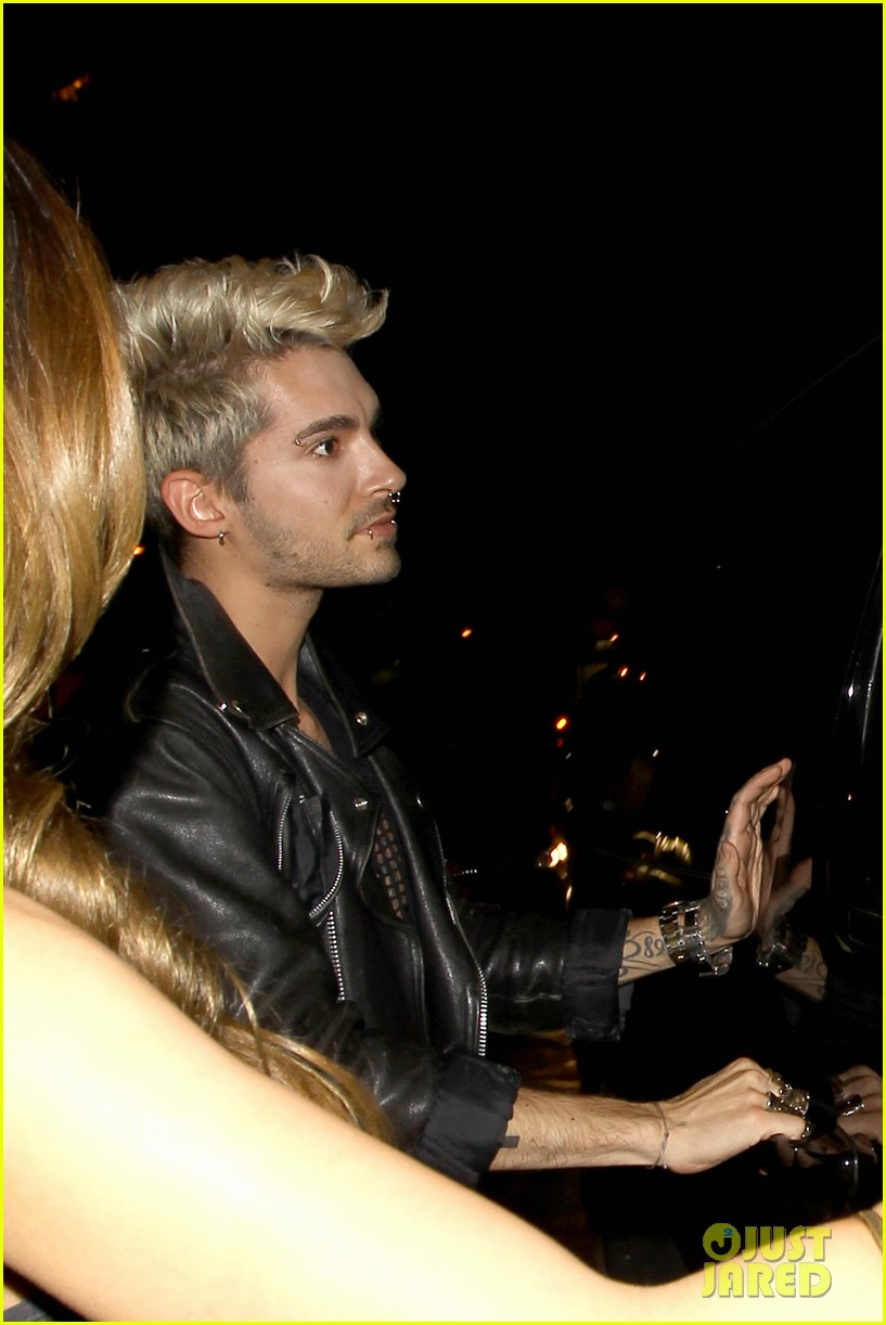 bill tom kaulitz make rare public appearance 033109454