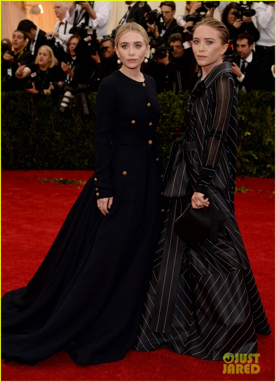 mary kate ashley olsen met ball 2014 05