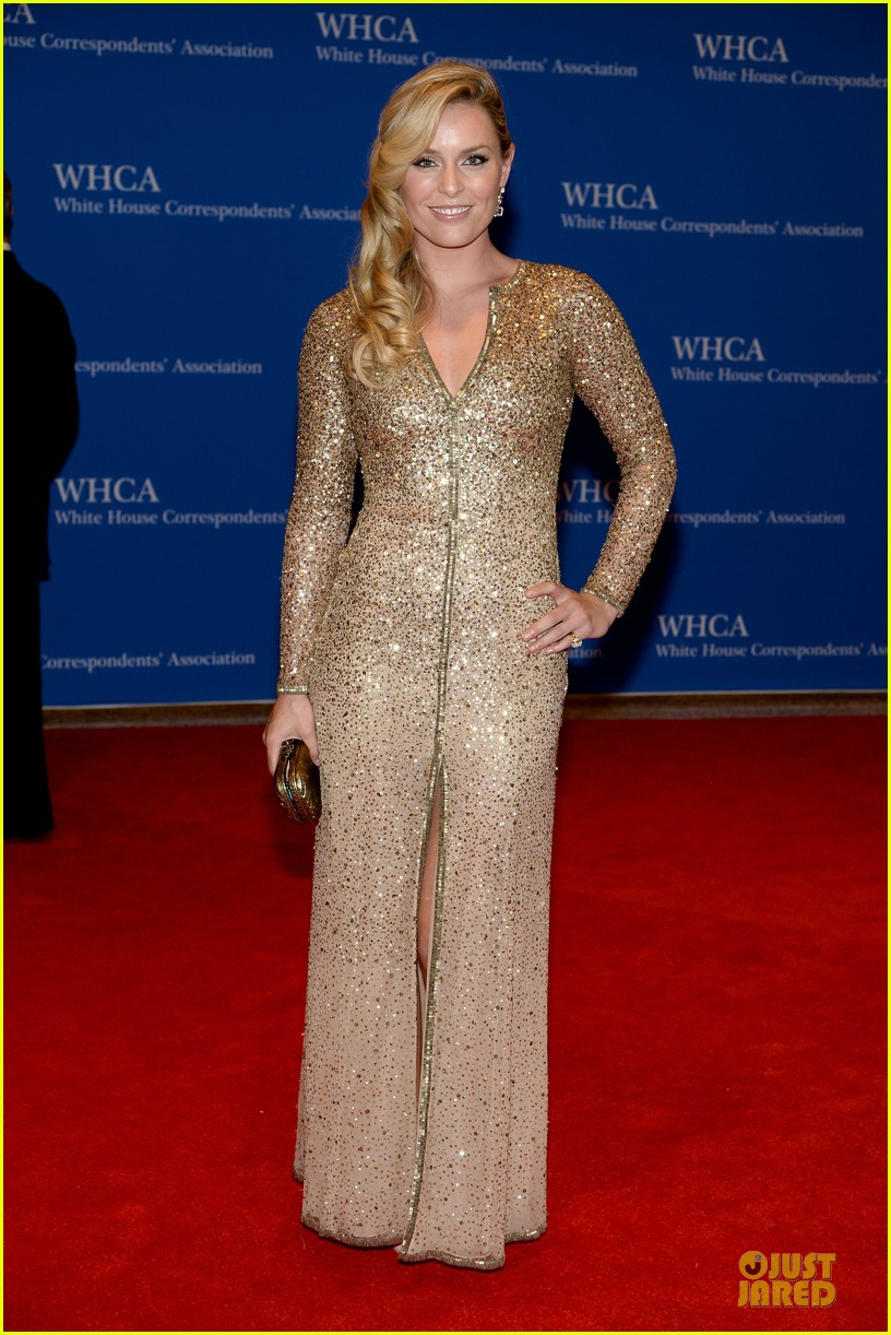 lindsay vonn tim tebow white house correspondents dinner 2014 013104800