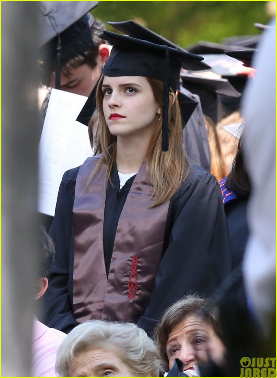 emma watson graduates brown university lit major173122096