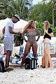 serena williams bootylicious beach caroline wozniacki 15