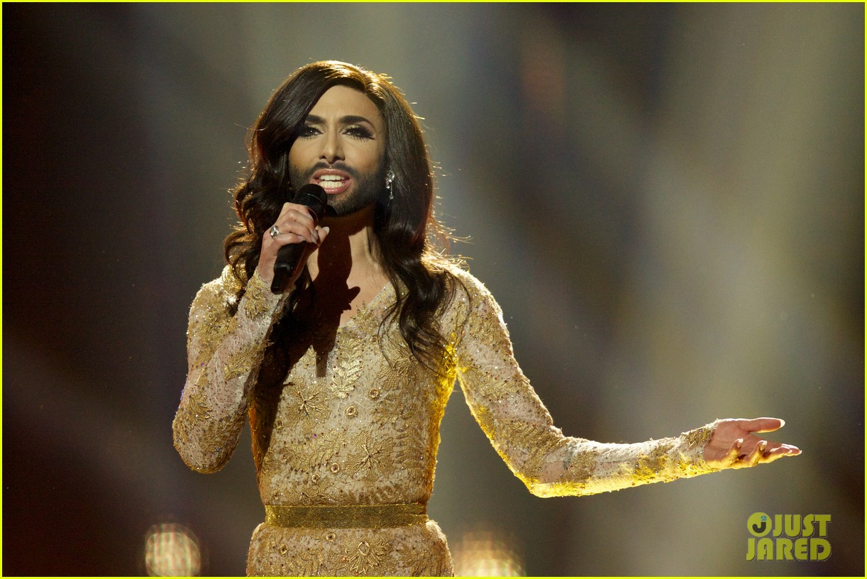 conchita wurst bearded drag queen wins eurovision 10