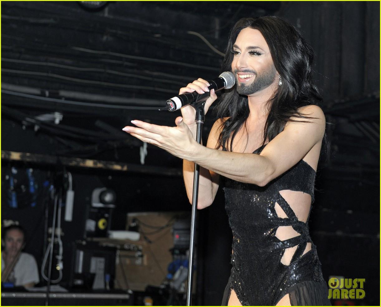 conchita wurst shoots down lady gaga tour rumors 02
