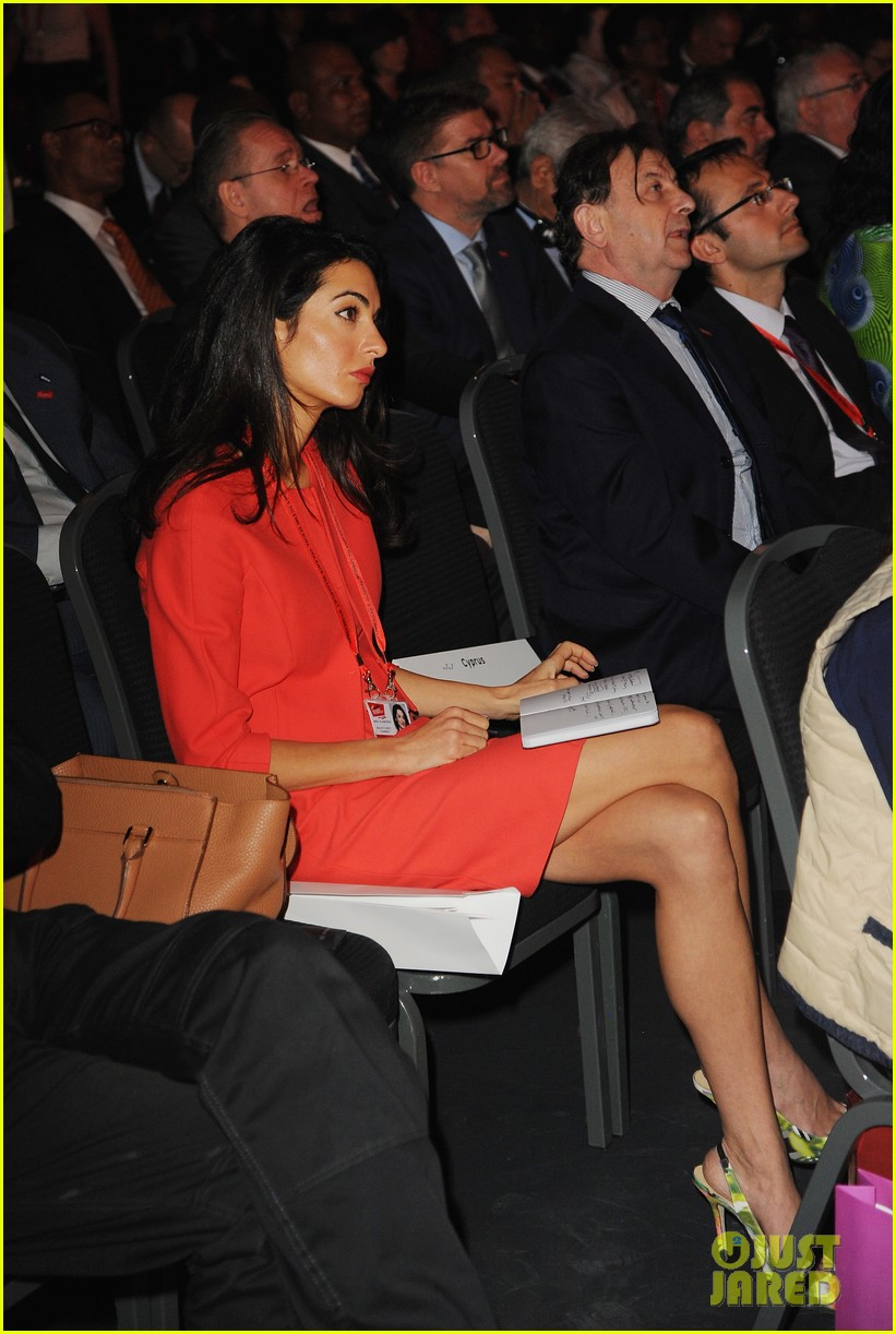 amal alamuddin brad pitt angelina jolie anti rape summit 173134116