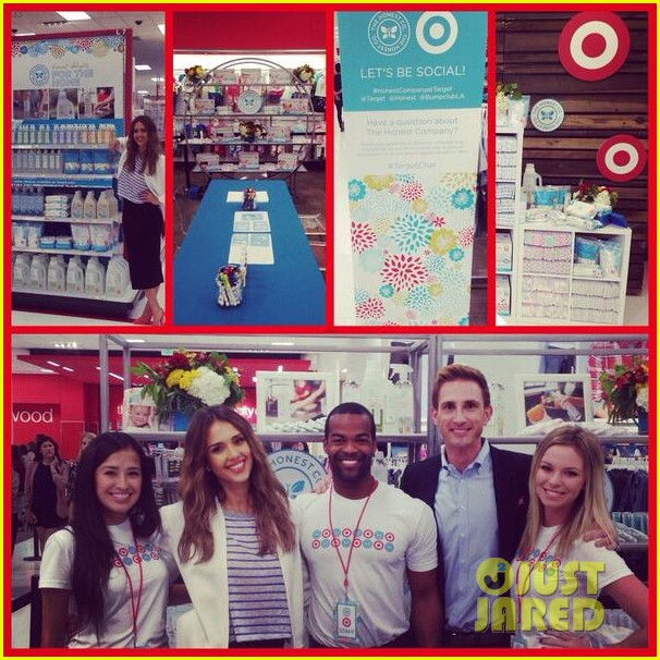 jessica alba celebrates honest company at target launch 033143814