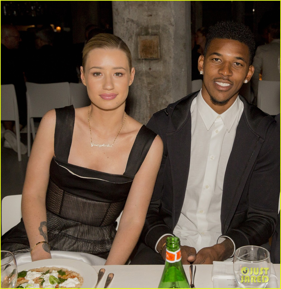 iggy azalea boyfriend nick young are fashionable duo for calvin klein 16