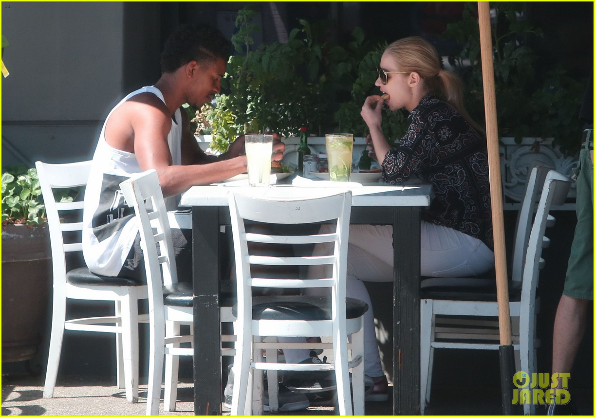 iggy azalea boyfriend nick young are one cute couple lunch 06