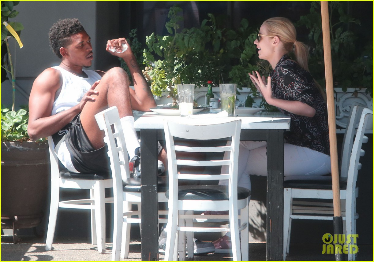iggy azalea boyfriend nick young are one cute couple lunch 153135079