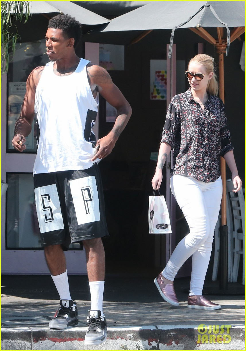 iggy azalea boyfriend nick young are one cute couple lunch 323135096