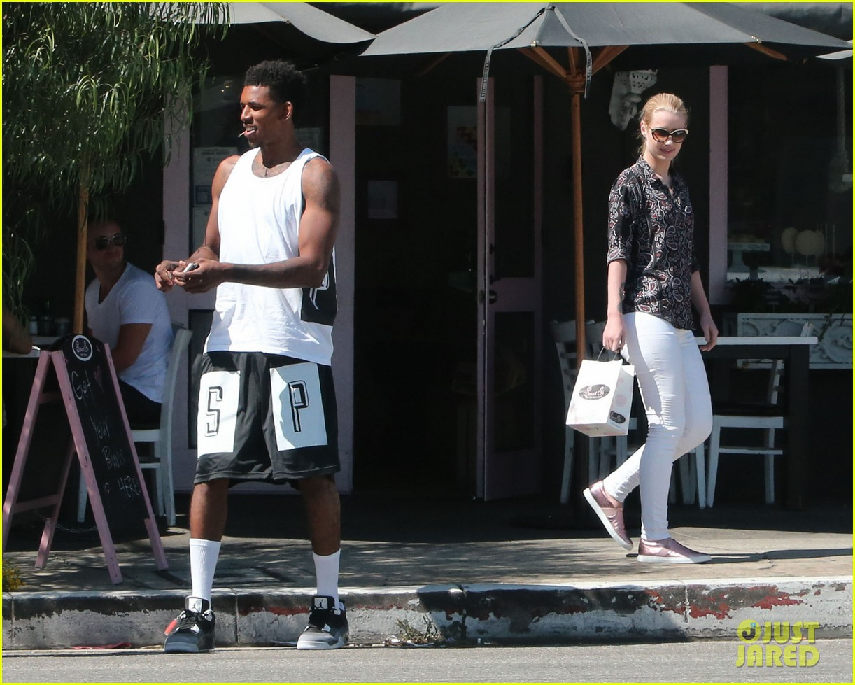 iggy azalea boyfriend nick young are one cute couple lunch 333135097