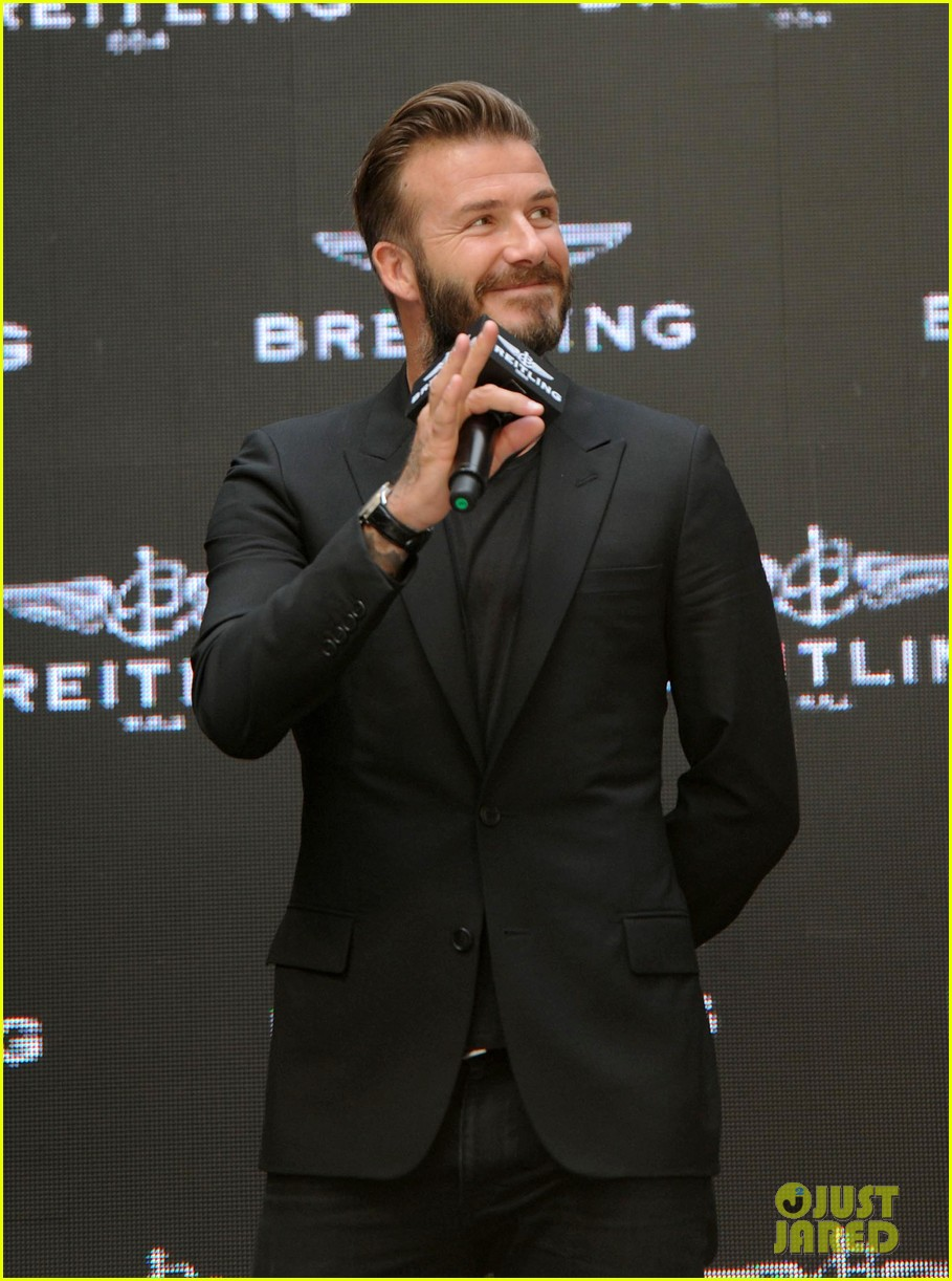 david beckham breitling press conference in beijing 083133990