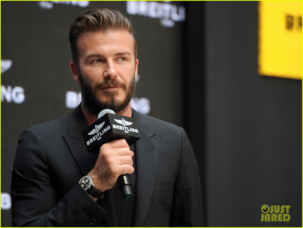david beckham breitling press conference in beijing 12