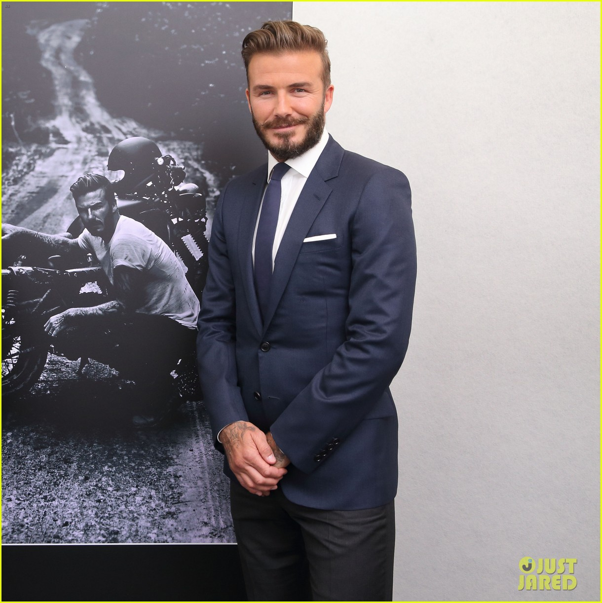 david beckham attends photo call for his documentary into the unknown 03