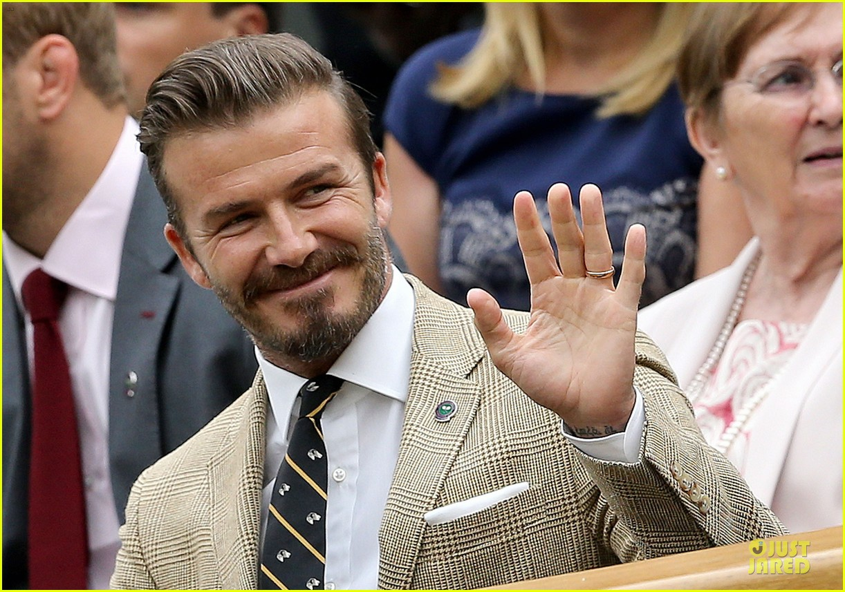 david beckham ed westwick dapper at wimbledon 113145536