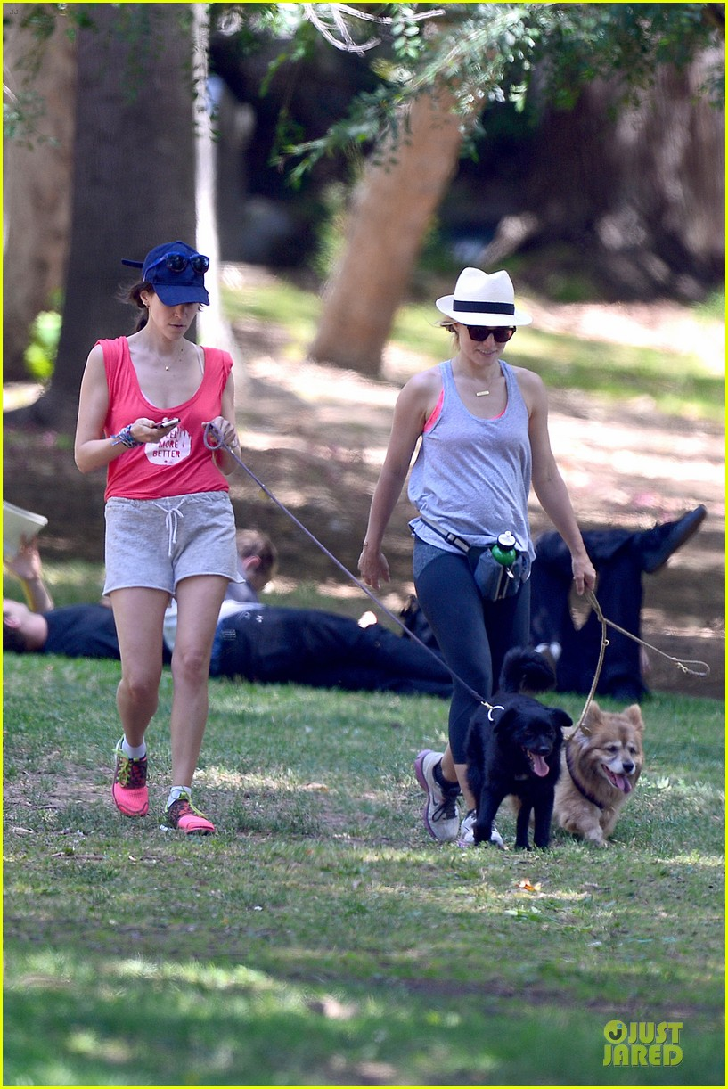 kristen bell gets new black dog 12