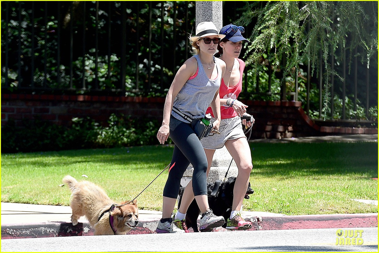 kristen bell gets new black dog 13