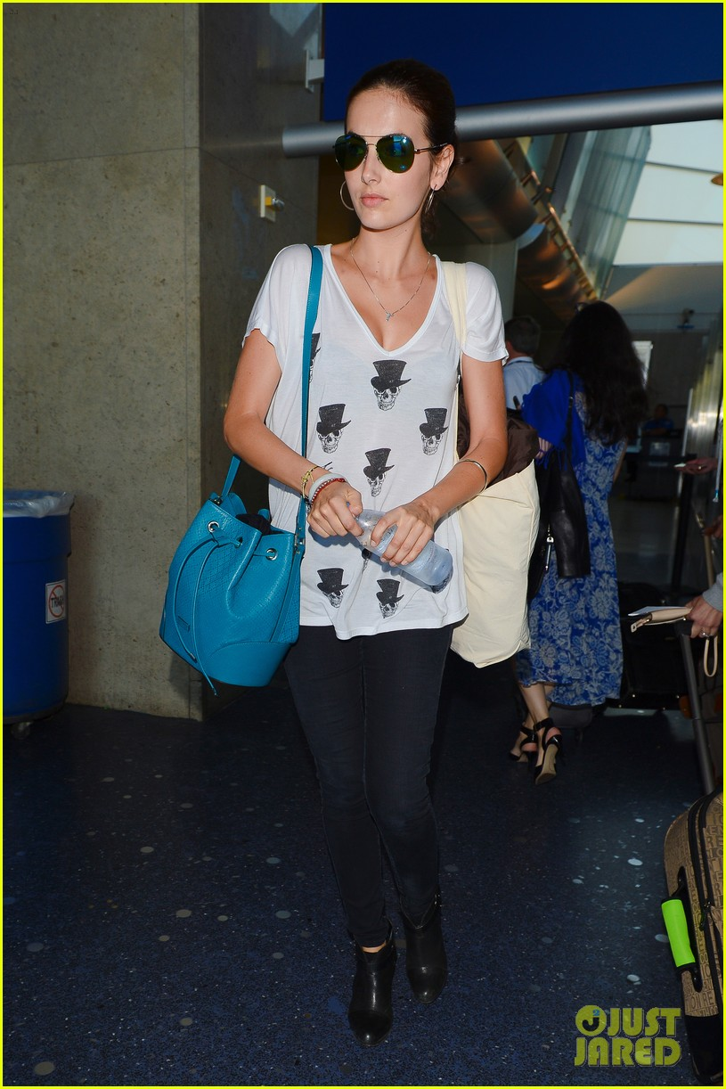 camilla belle heads home after her south american tour 09