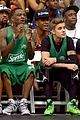 justin bieber chris brown bet celeb basketball game 26