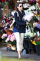 jessica biel looks happy to smell like flowers 07