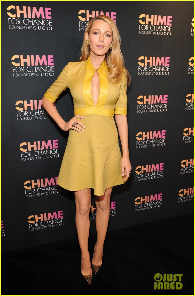 blake lively parties beyonce gucci chime for change 123127784