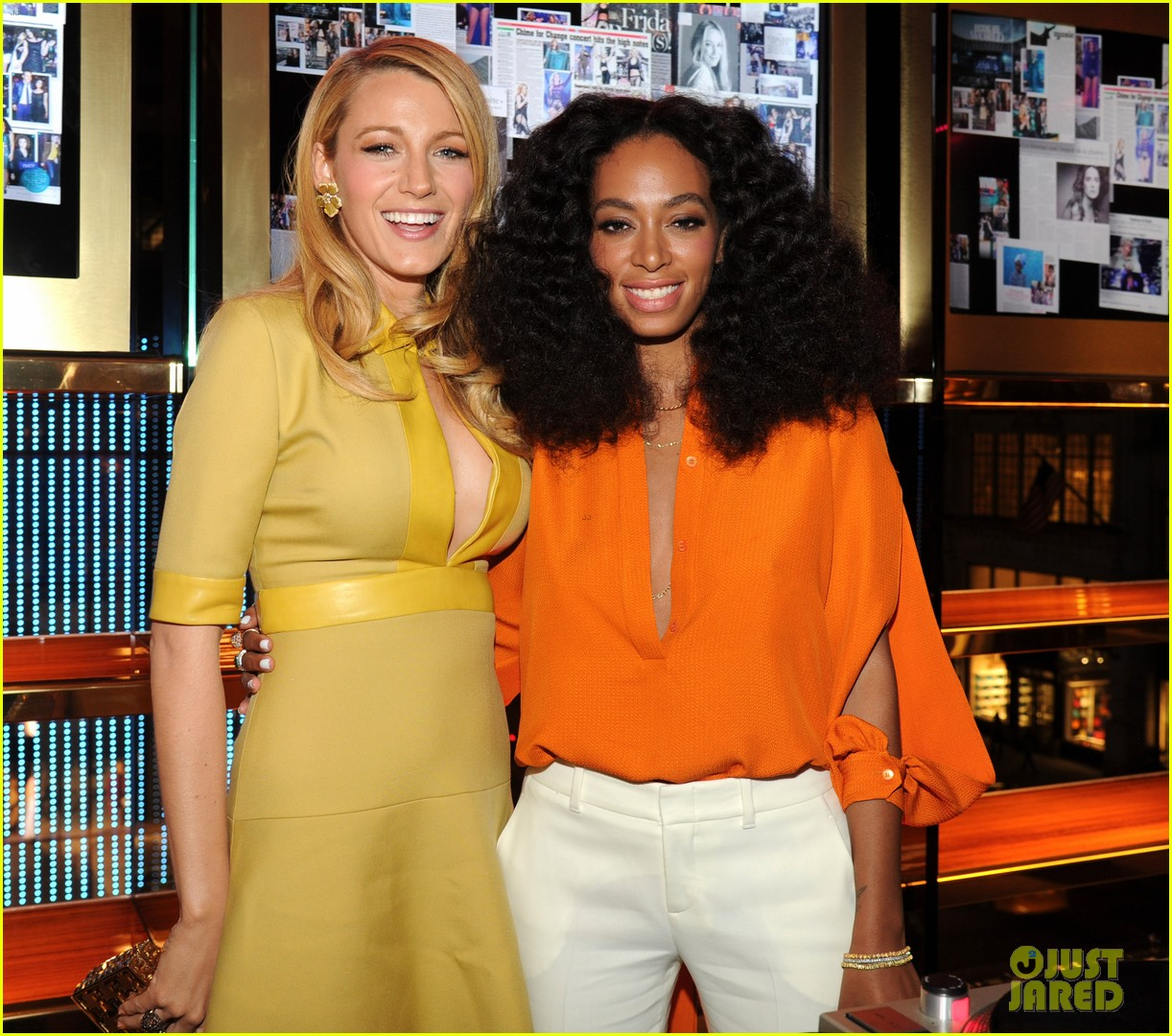 blake lively parties beyonce gucci chime for change 20