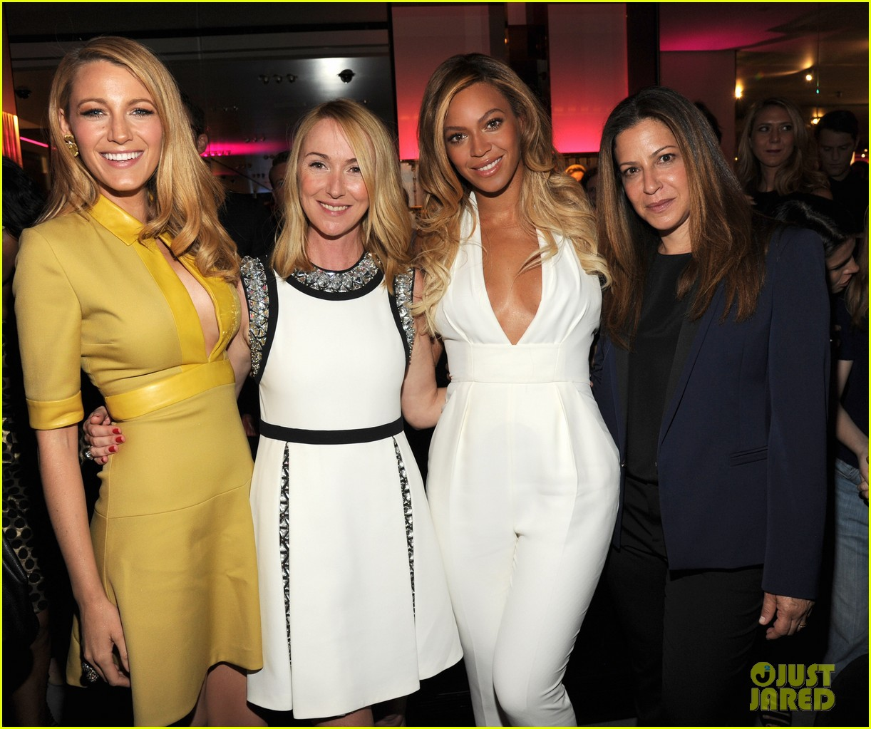 blake lively parties beyonce gucci chime for change 28