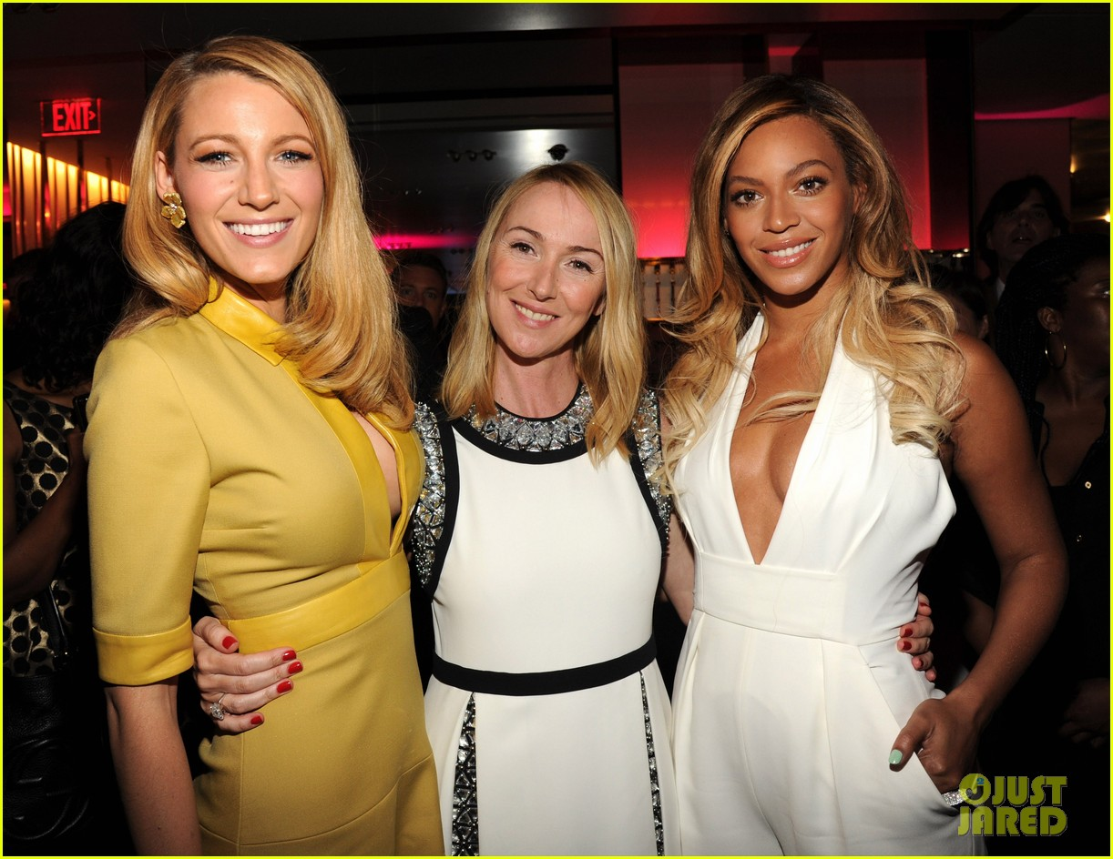 blake lively parties beyonce gucci chime for change 313127803