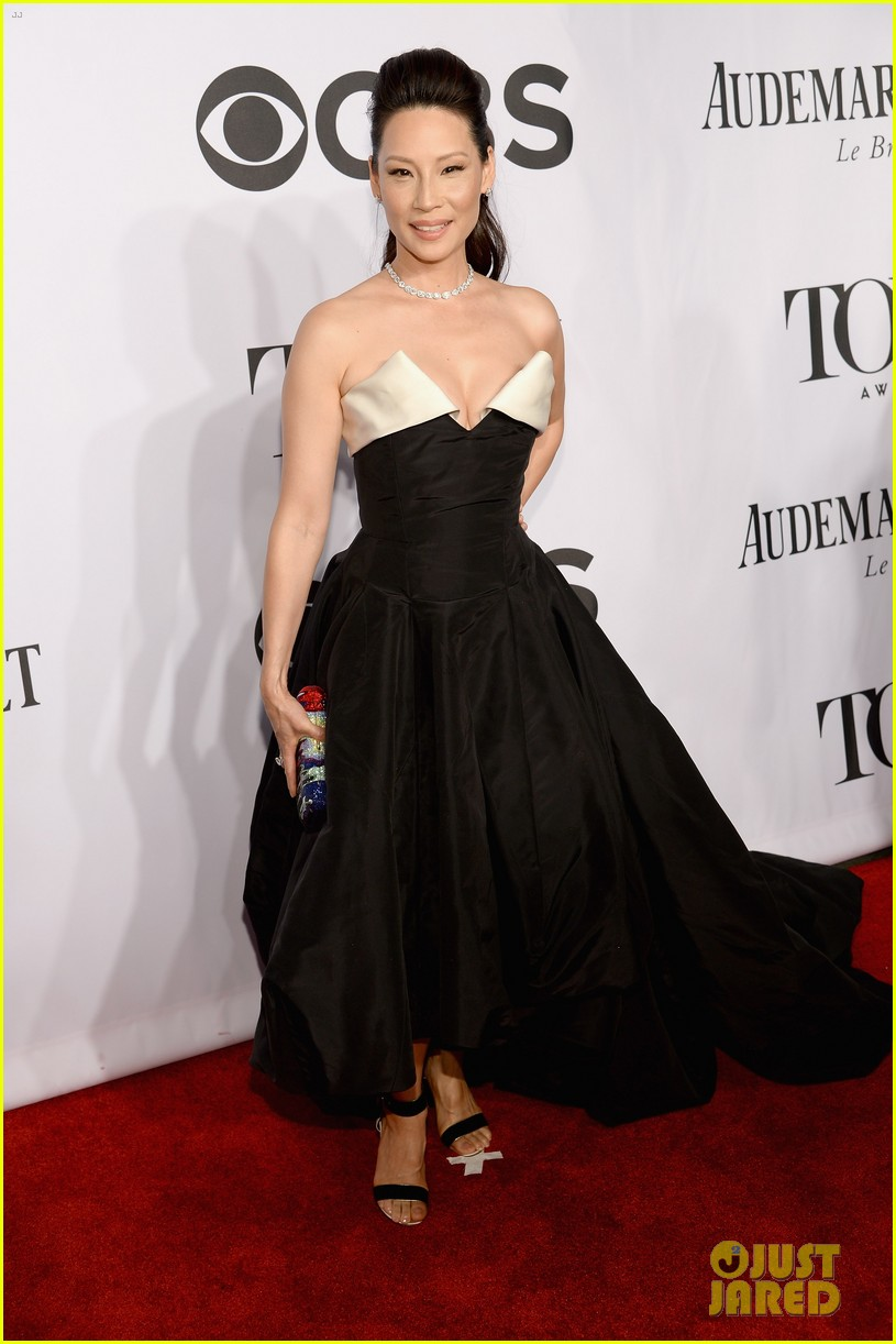orlando bloom lucy liu tony awards 2014 093131264