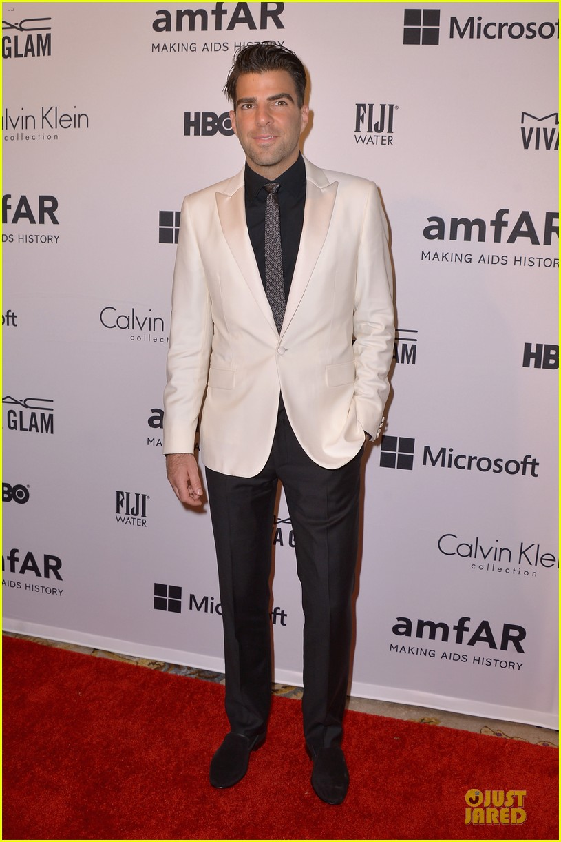 matt bomer zachary quinto meet at amfar inspiration gala 03