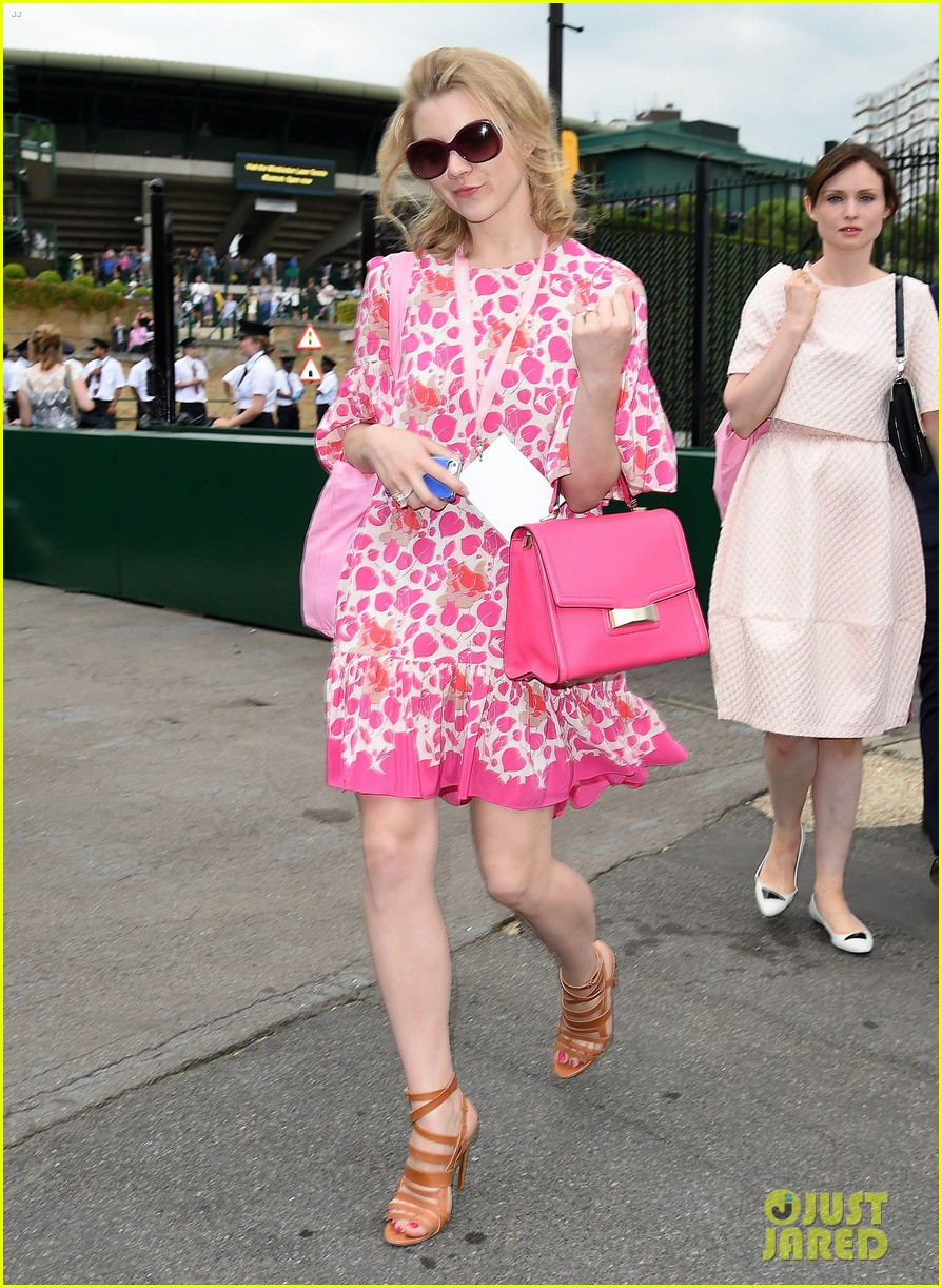 douglas booth natalie dormer lounge with evian during wimbledon 023142382