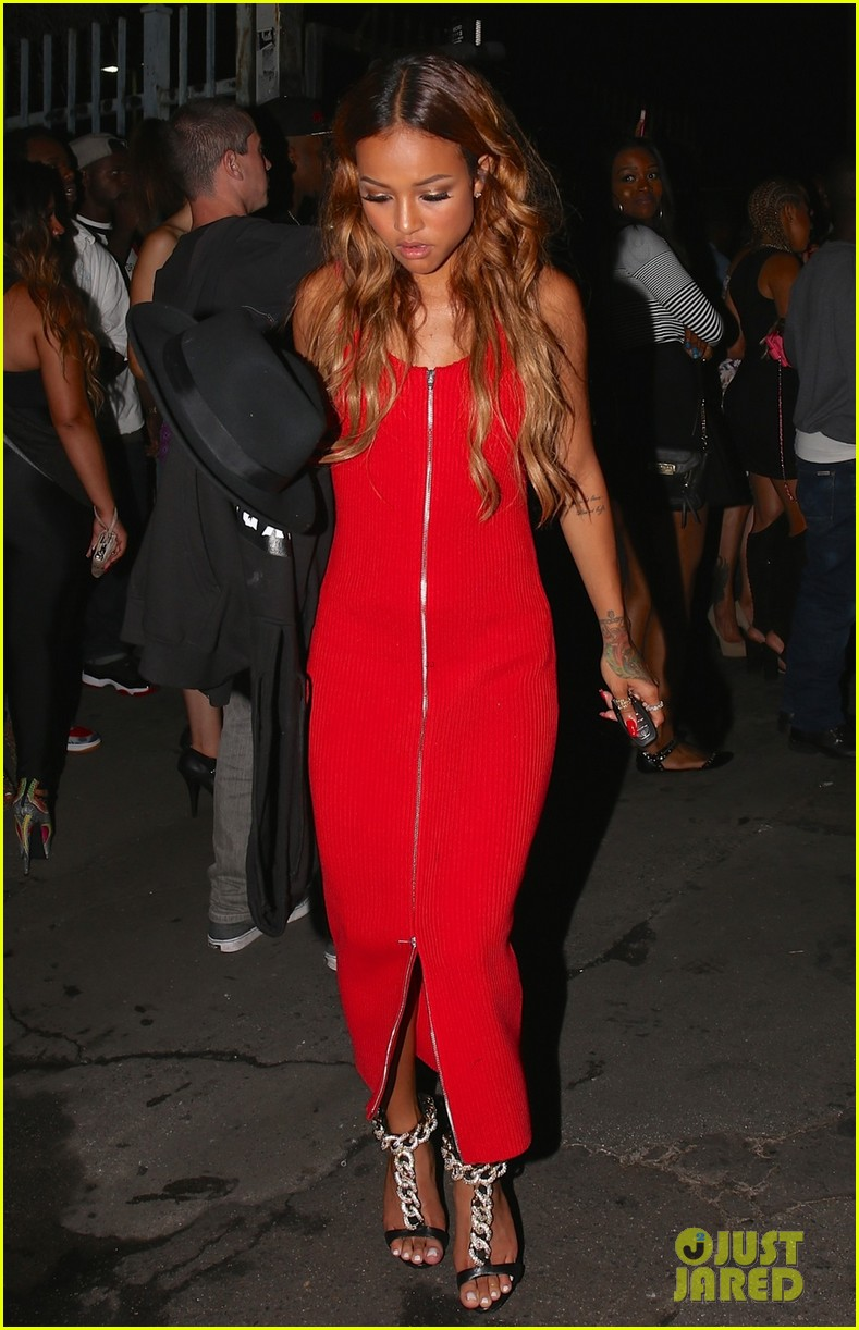 chris brown karrueche tran bet awards after party 053146718
