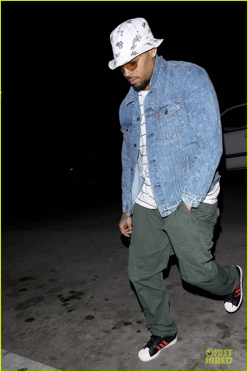 chris brown recording new songs after jail release 11