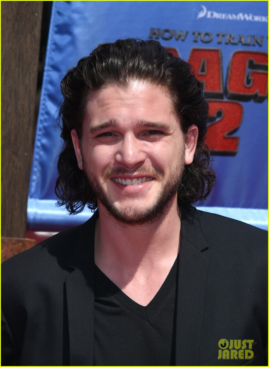 gerard butler kit harington how to train your dragon 2 premiere 02