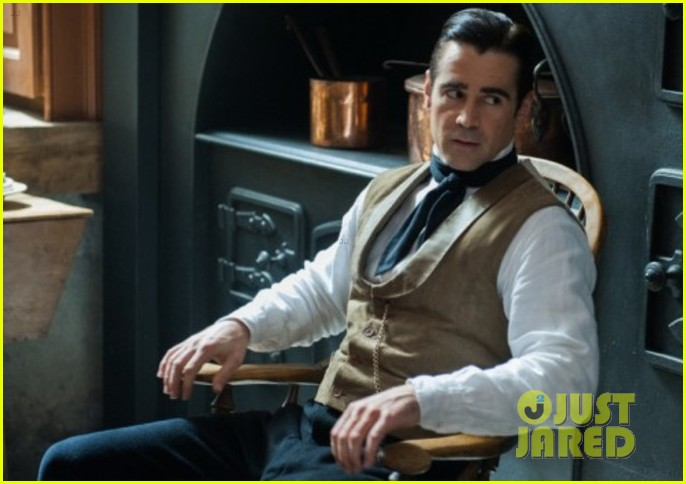 jessica chastain colin farrel share passionate kiss for miss julie 02