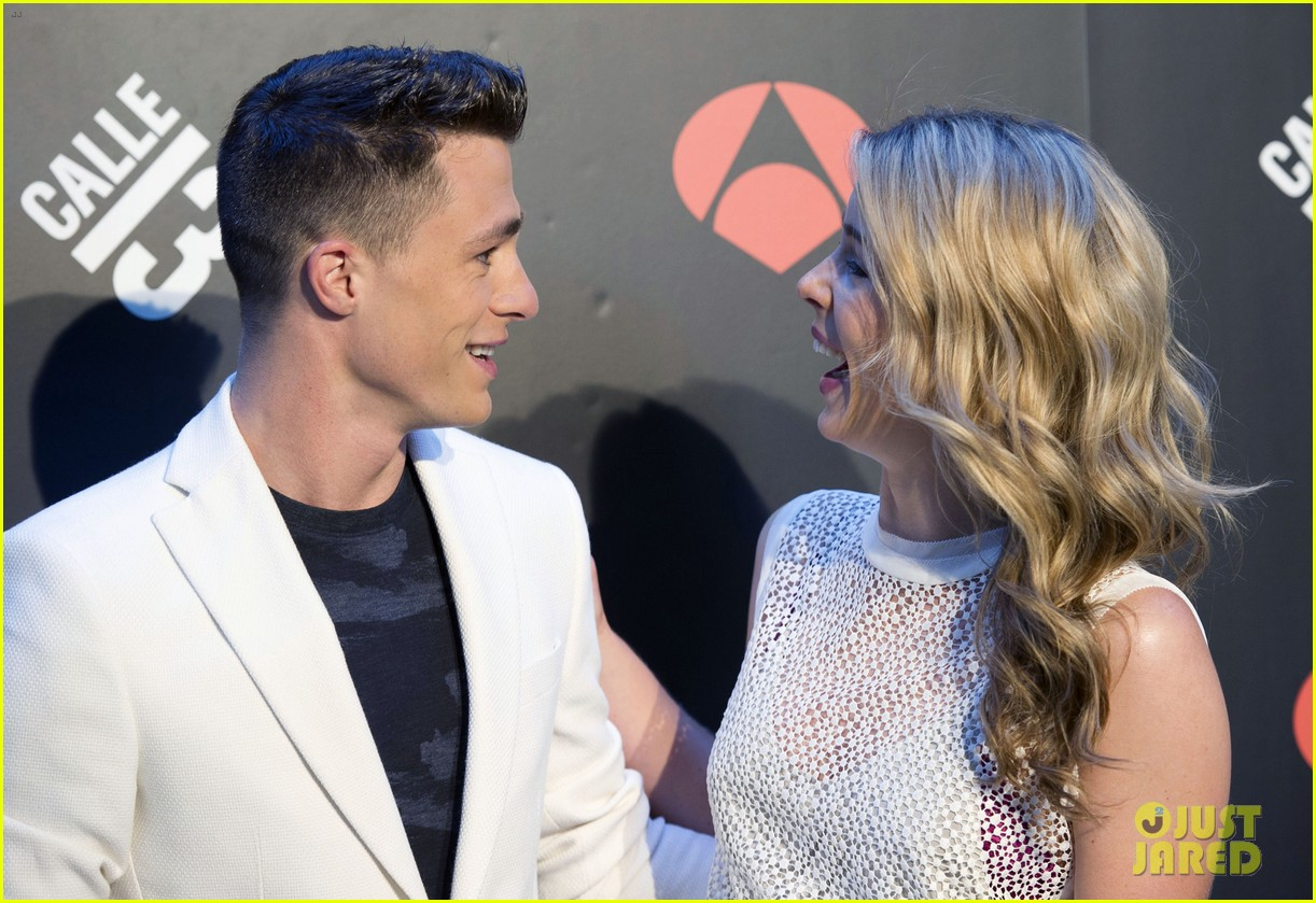 colton haynes emily bett rickards arrow madrid 083131719
