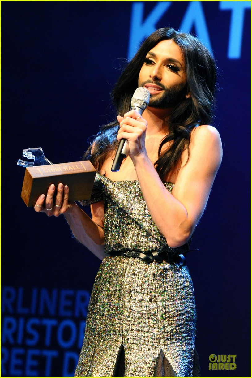 conchita wurst christopher street day gala 063140448