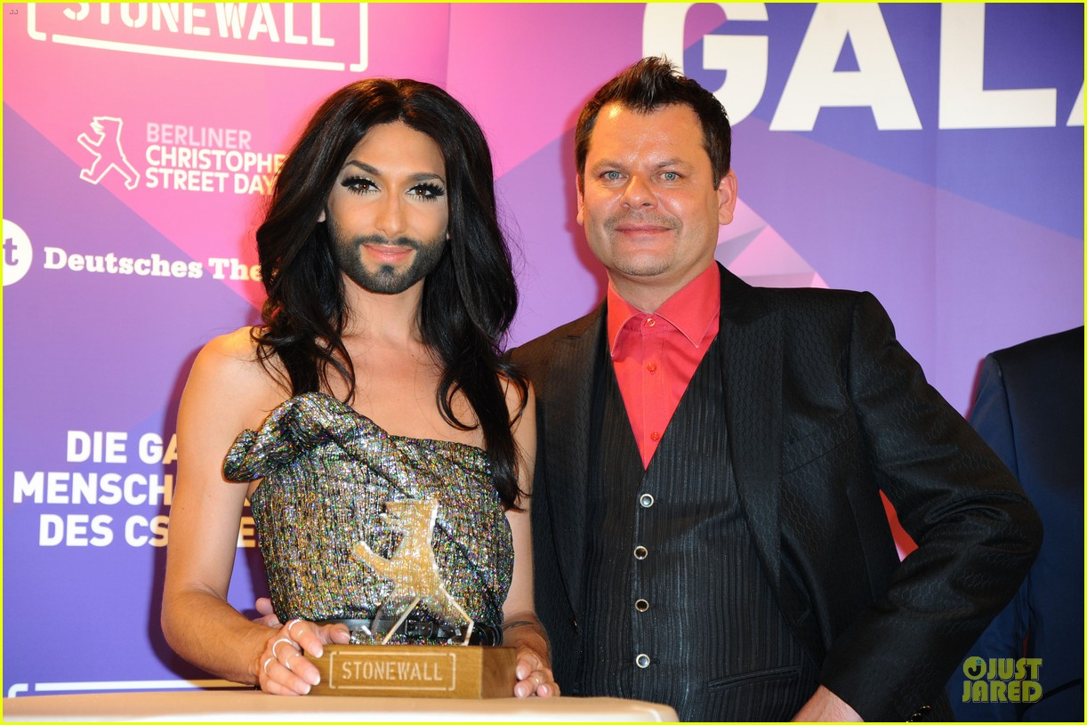 conchita wurst christopher street day gala 103140452
