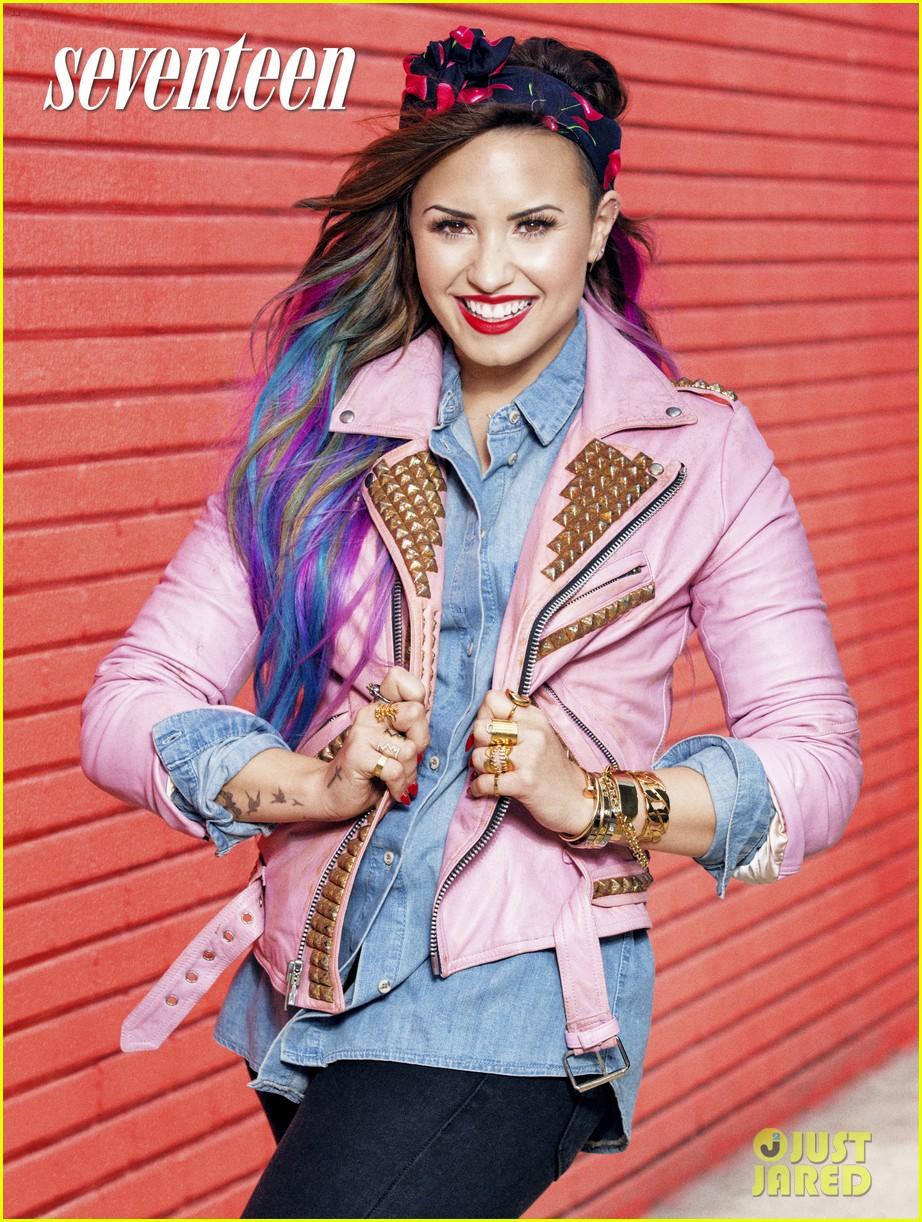 demi lovato seventeen magazine august 2014 023141768