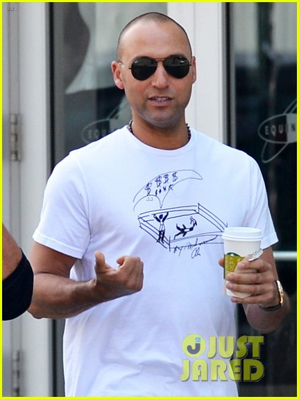 derek jeter nyc after 40th birthday party 02