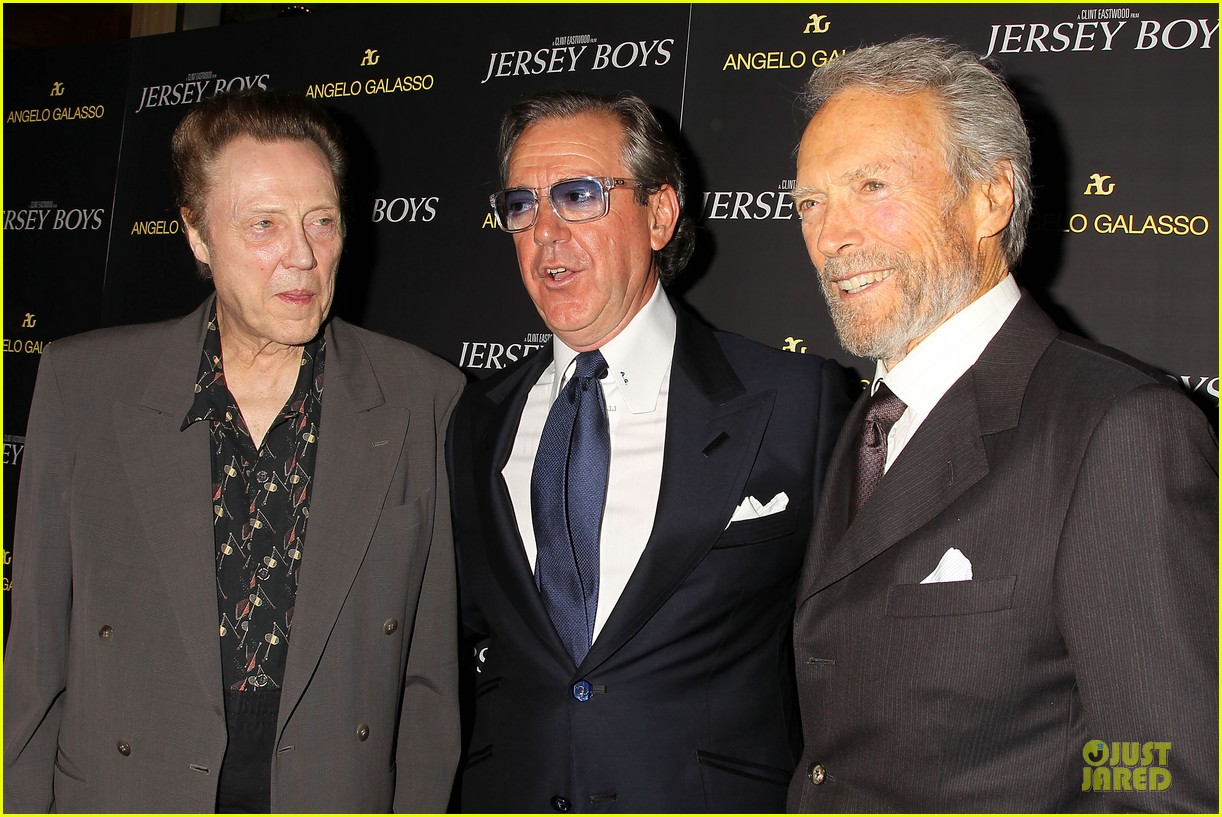 clint eastwood jersey boys cast nyc screening 133132200