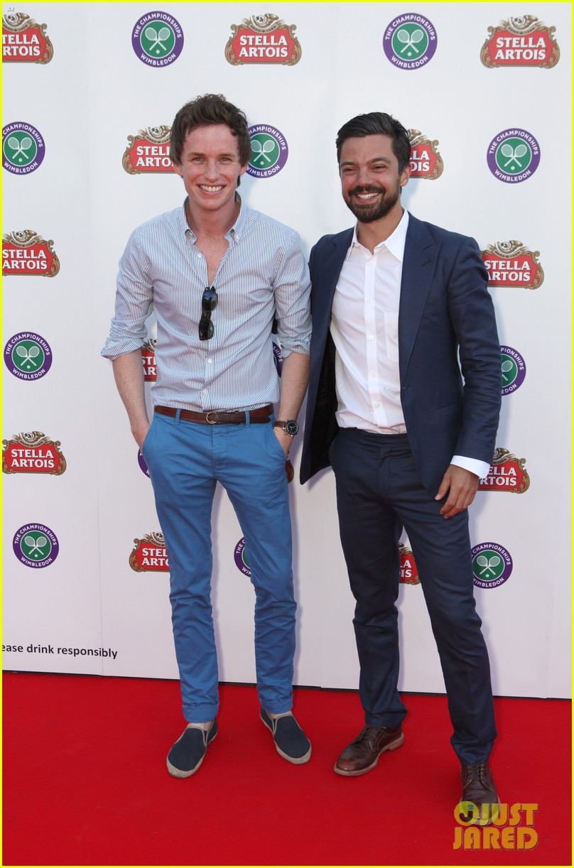 eddie redmayne dominic cooper wimbledon launch party 02