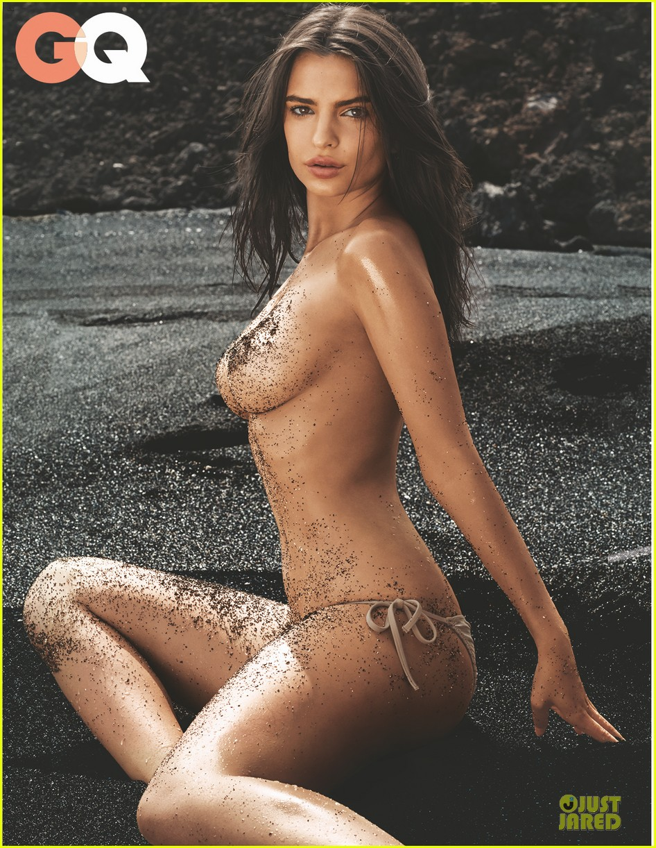 emily ratajkowski sexy topless gq july 2014 cover 023142230