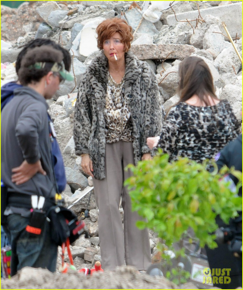 emma thompson wears lots of age makeup for new movie 113144896