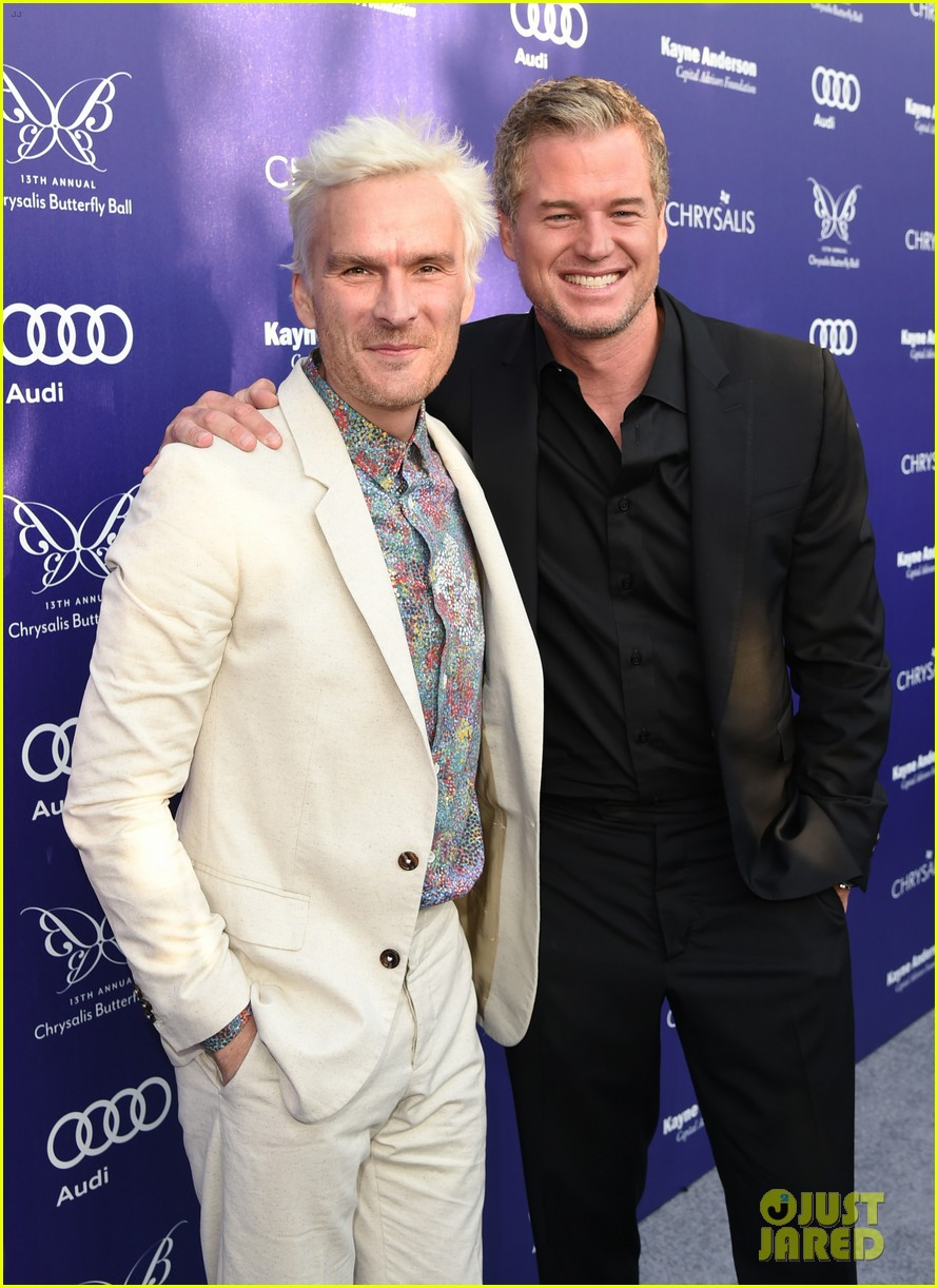 balthazar getty debuts white hair chrysalis butterfly ball 04