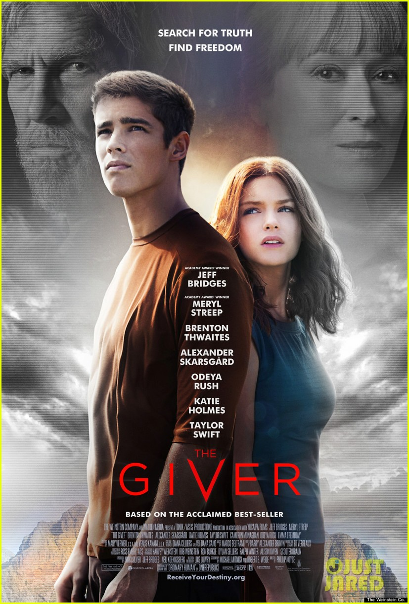 the giver official poster 01