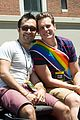 jonathan groff nyc gay pride parade coming out 01