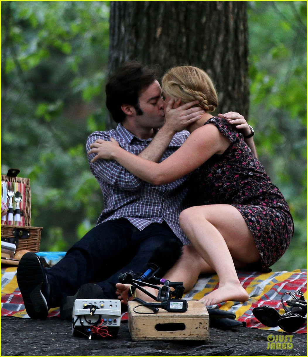 bill hader amy schumer kissing in central park 013145163