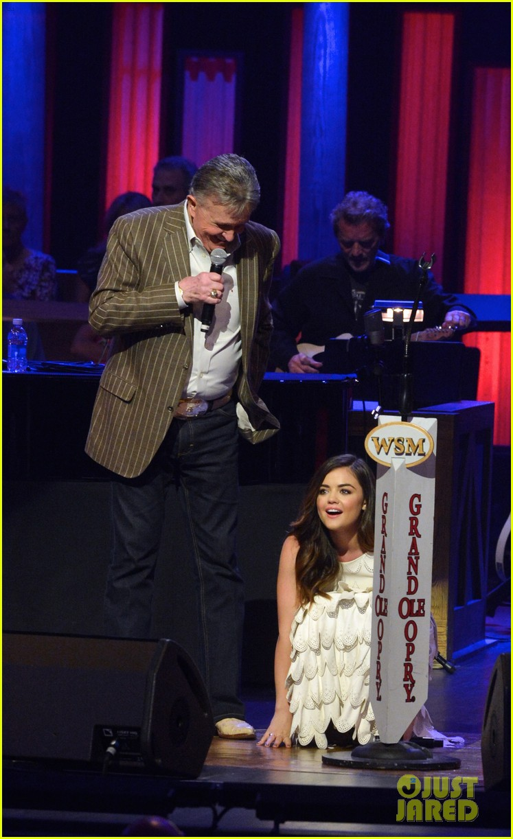 lucy hale makes her grand ole opry debut 08