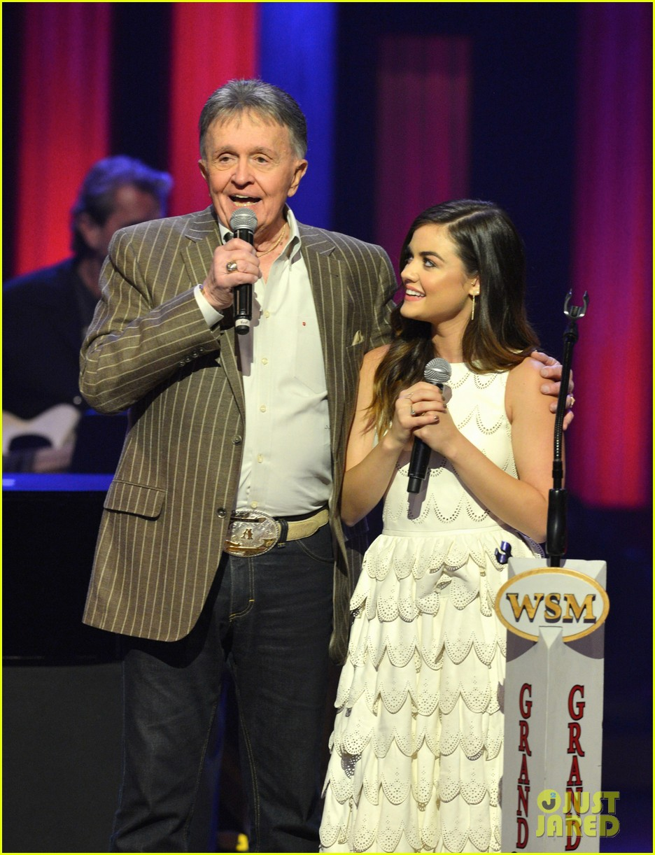 lucy hale makes her grand ole opry debut 11